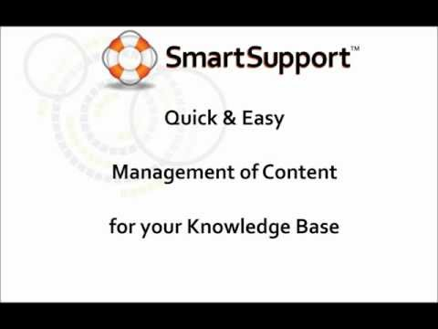 SmartSupport Article & Content Features