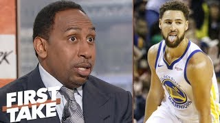 Klay Thompson to Lakers rumors: Warriors say 'no way in hell' - Stephen A. Smith | First Take