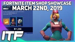 Fortnite Item Shop SKULLY IS BACK! [March 22nd, 2019] (Fortnite Battle Royale)