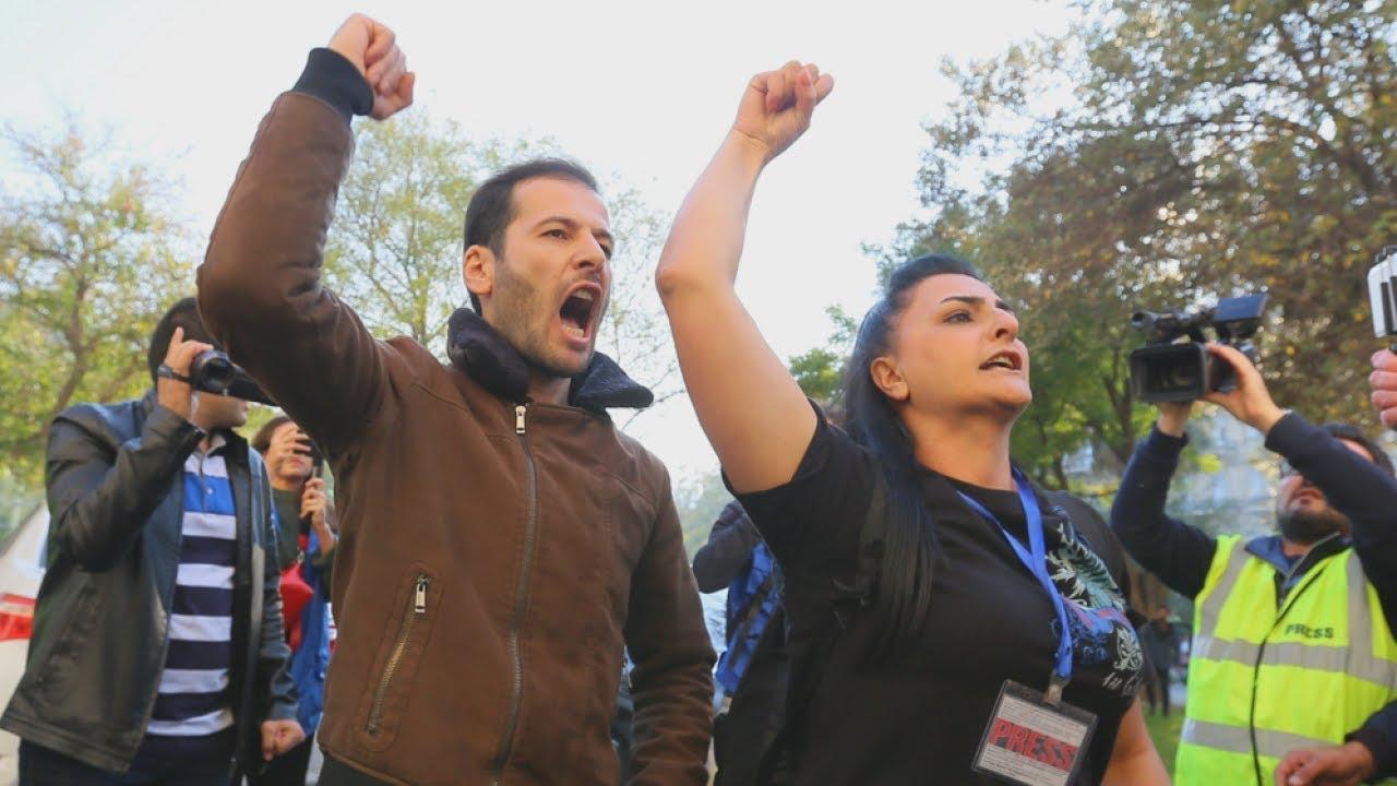 Баку: силовики разогнали акцию за свободу собраний