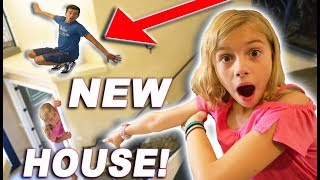 Last To Be FOUND In Our NEW HOUSE!! New House Tour! Don't Tell MOM And DAD!