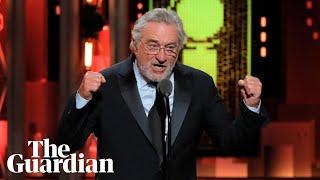 Robert de Niro's 'Fuck Trump' speech at Tony awards