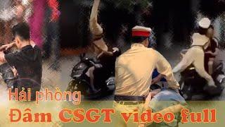 Hải Phòng - Thanh niên đâm CSGT, bay Như Phim Hành Động - Đâm Công An Hải Phòng Full clip.