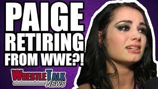 Paige RETIRING From WWE? | WrestleTalk News Jan. 2018