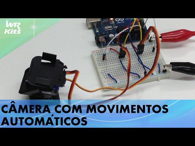 CÂMERA COM MOVIMENTOS AUTOMÁTICOS COM PAN/TILT