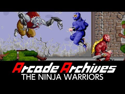 Arcade Archives THE NINJA WARRIORS Trailer