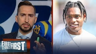 Nick and Cris react to Jaguars trading Jalen Ramsey to the Rams | NFL | FIRST THINGS FIRST