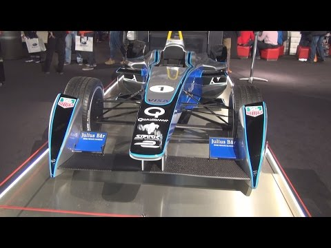 TAG Heuer Formula E Julius Bar (2016) Exterior and Interior in 3D