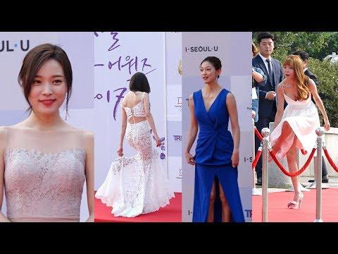 박보영-공승연-한은정-장신영…레드카펫 위 '아찔 여신들'(드라마어워즈)