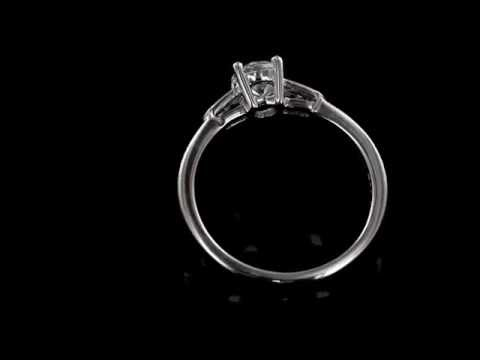 Browns Family Jewellers Contemporary Engagement Ring