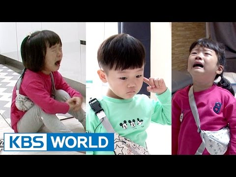 The twins fall about? What happened to Seola and Suah? [The Return of Superman / 2017.04.16]