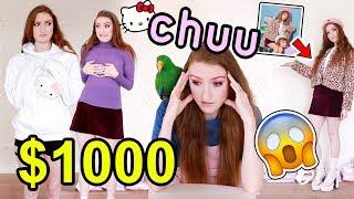 I SPENT $1000 ON CHUU!! HUGE K-FASHION HAUL AND TRY ON 2019: Hello Kitty x Chuu