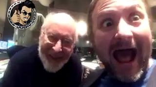John Williams and Rian Johnson Wish Us May The 4th Be With You (STAR WARS: THE LAST JEDI) 2017