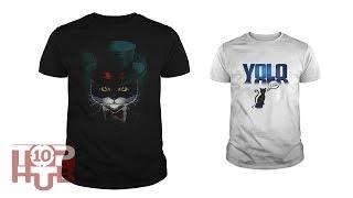 Top 10 Cat Design Latest T-Shirt For Men #1