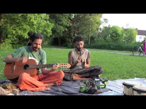 quena flute with guitare improvisation Jam-session
