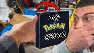 HIDDEN 20 Year Old CHILDHOOD Pokemon Cards Collection FOUND!