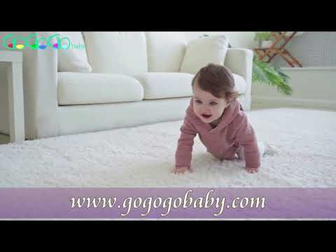 GogogoBaby Adorable Baby Bunny Ear Solid Color Hooded Onesie