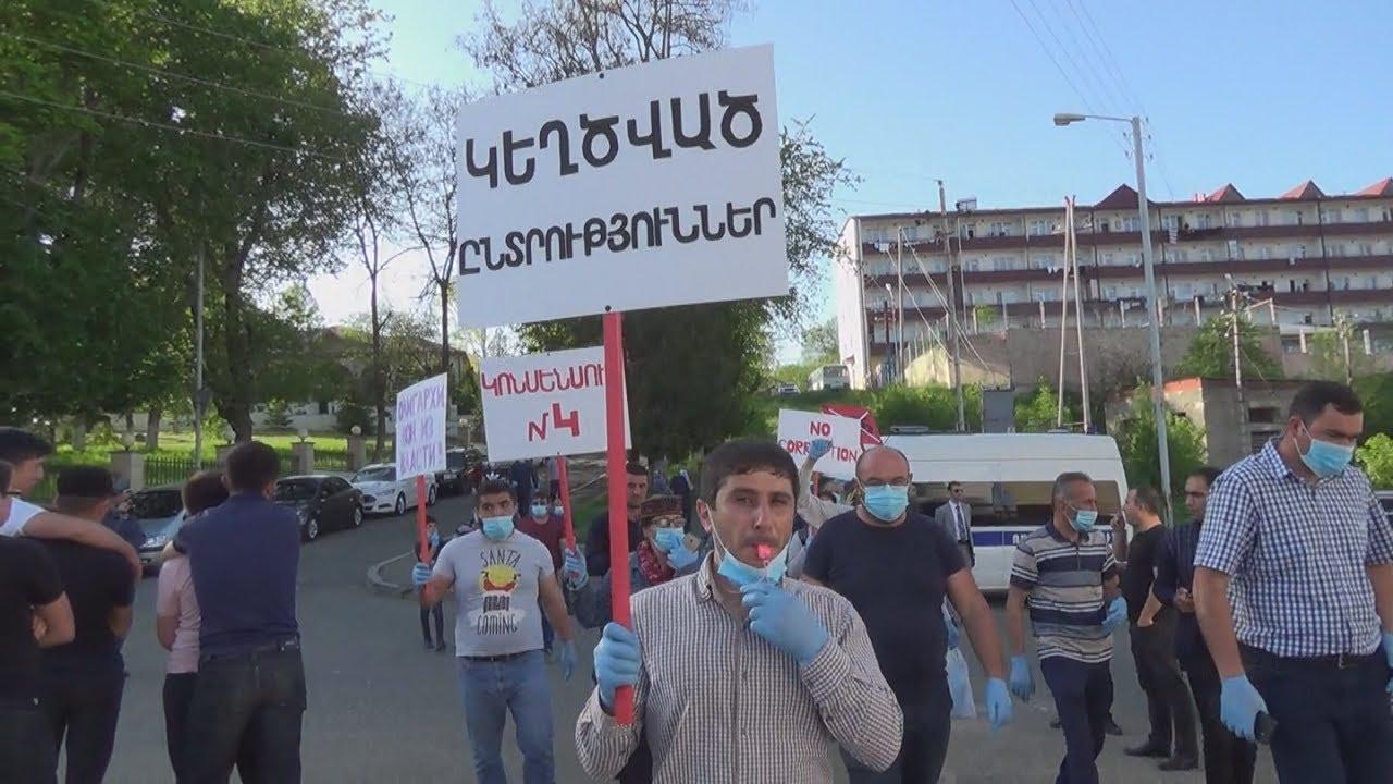 Карабах: нового президента освистали в день его инаугурации