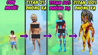 GTA 5 - Lại là Attack on Titan nhưng tôi trở thành Titan tiến công phóng xạ bằng cách này đây | GTHG