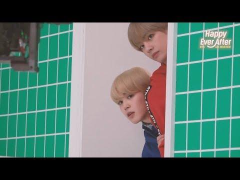 Jimin and V (지민 & 김태형 BTS) tease each other