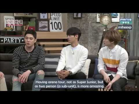 [ENG SUB] 150402 Bachelor Party - Donghae & Eunhyuk always stick together