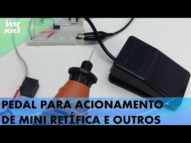 PEDAL PARA ACIONAMENTO DE MINI RETÍFICA