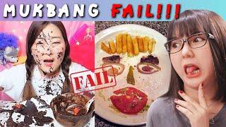 MUKBANG FAIL YANG BIKIN JIJIK ... IYEEUHHH !! - REACTION INDONESIA