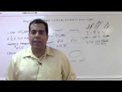 Florida Real Estate Exam Prep Math 9: Loan Amortization