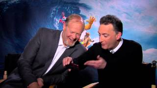 Tom Kenny and Bill Fagerbakke - Spongebob Movie Sponge Out of Water