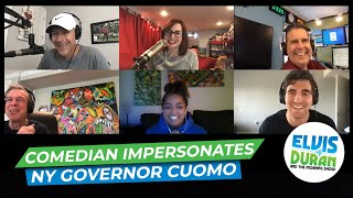 Comedian's Impression Of Governor Cuomo Will Have You In Tears With Laughter   Elvis Duran Exclusive
