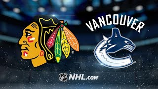 Gaunce scores twice as Canucks double up Hawks, 4-2