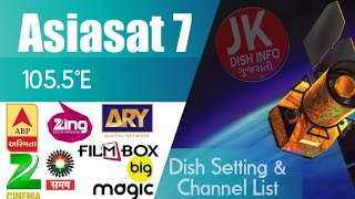 Asiasat7 105 5 channels list 2018 and scanning Videos - MP3HAYNHAT COM