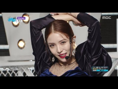 [Comeback Stage] BoA  - Woman,  보아 - Woman Show Music core 20181027