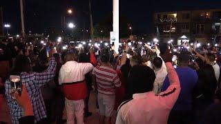 Nipsey Hussle candle vigil in Fresno