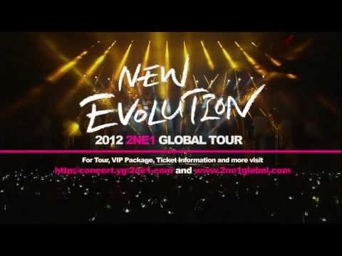 2NE1 GLOBAL TOUR 2012 - Official Trailer