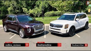 The 2020 Kia Telluride & Hyundai Palisade Twins are the Perfect SUV's for Families