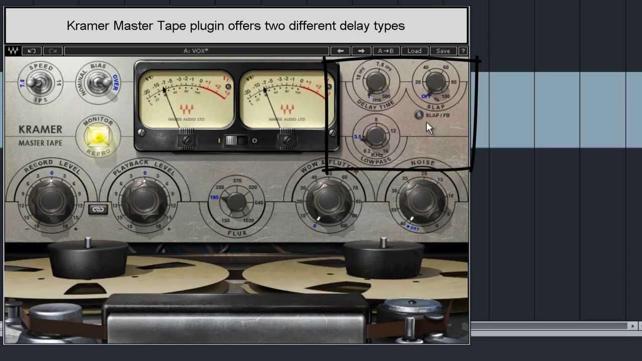 mixing rap hip hop vocals delay throws using waves kramer master tape plugin youtube. Black Bedroom Furniture Sets. Home Design Ideas