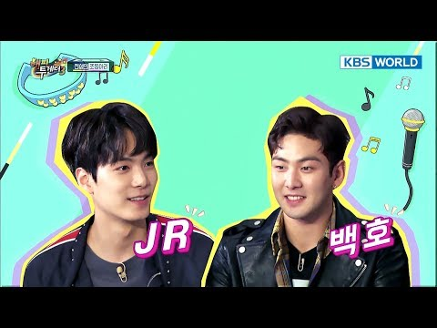 Icon of chart climber NU'EST W is on 'Happy Together' [Happy Together / 2017.10.19]
