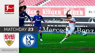 VfB Stuttgart - FC Schalke 04   5-1   Highlights   Matchday 23 – Bundesliga 2020/21