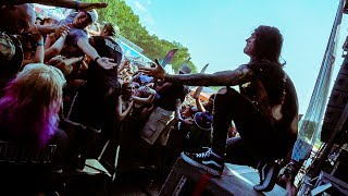 BLESS THE FALL HAS THE CRAZIEST SHOW: WARPED TOUR VIRGINIA BEACH