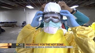 Inside the CDC medical workers' training facility