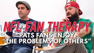 """NFL FAN THERAPY: Pats Fans Enjoy """"The Problems Of Others"""""""