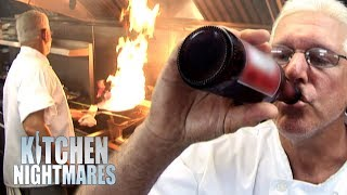 Gordon In Shock Over Chef's Drinking Habits | Kitchen Nightmares