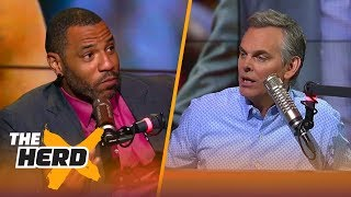 Kenyon Martin on Steve Kerr letting players coach, Isaiah Thomas trashing the Cavs | THE HERD