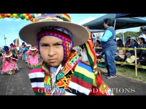 Tinkus San Simon VA: Festival Boliviano 2016