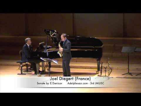 3rd JMLISC Joel Diegert (France) Sonate by E. Denisov