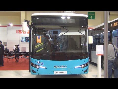 Isuzu Citiport ISB6.7E6 Bus (2016) Exterior and Interior in 3D