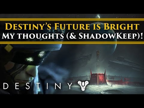 Destiny's Bright Future - Destiny 2 Shadowkeep, New Light, Cross-Save, Free To Play. MY THOUGHTS!