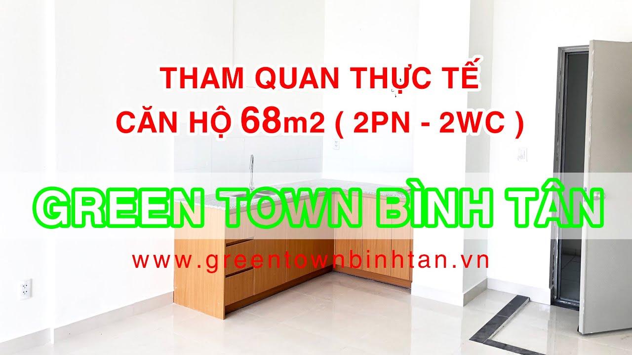 Căn hộ Green Town Bình Tân mới giao nhà, DT 49-53-63-68-72-92m2, hỗ trợ vay 70%. LH 0934022839 video