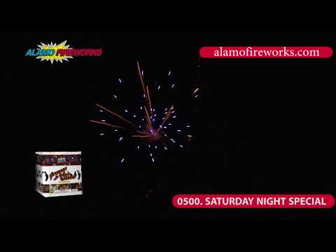 0500 Saturday Night Special - Alamo Fireworks